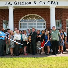 J. A. Garrison and Company CPA's Ribbon Cutting